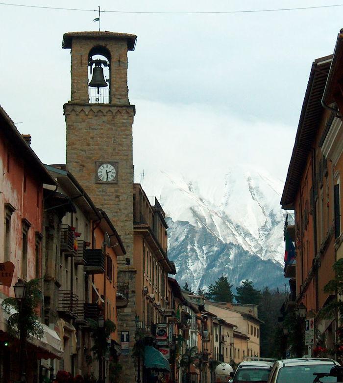 Amatrice's Main Street