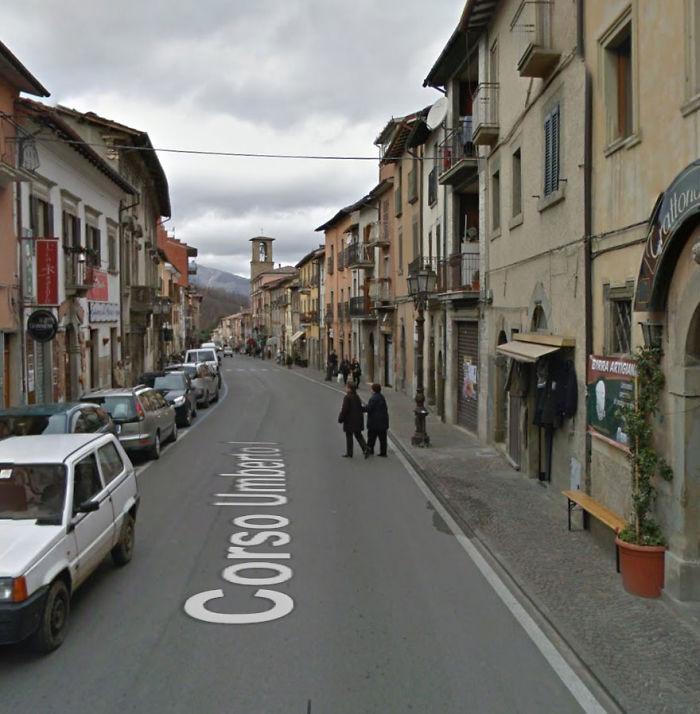 Corso Umberto In Amatrice