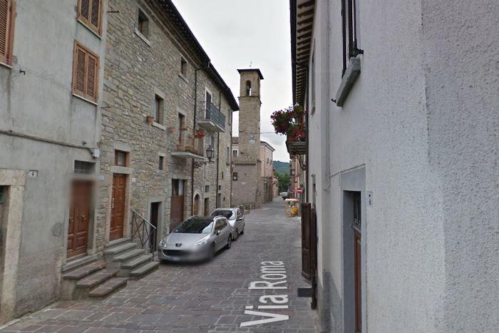 Via Roma In Amatrice