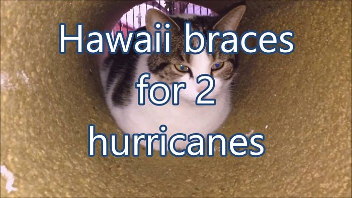 Hawaii Braces For 2 Hurricanes
