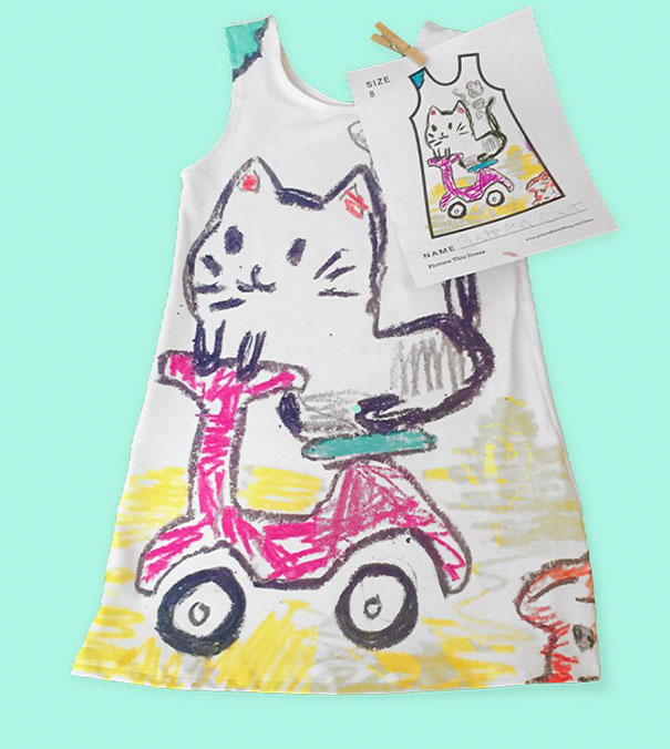 This Cool Company Lets Little Girls Design Their Own Dresses