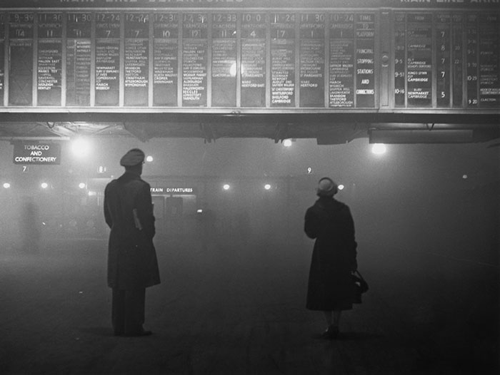 Liverpool St. Station, 29 January 1959
