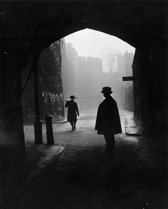 The Tower Of London, January 1947
