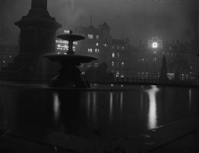Trafalgar Square, In The Daytime, November 1927