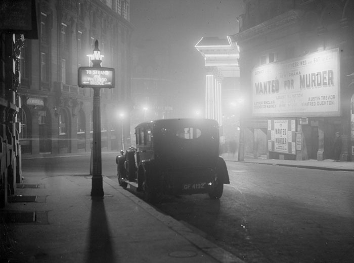 Central London, January 1936