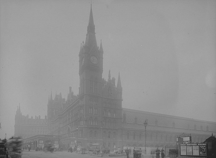 St Pancras Railway Station, 1 July 1907