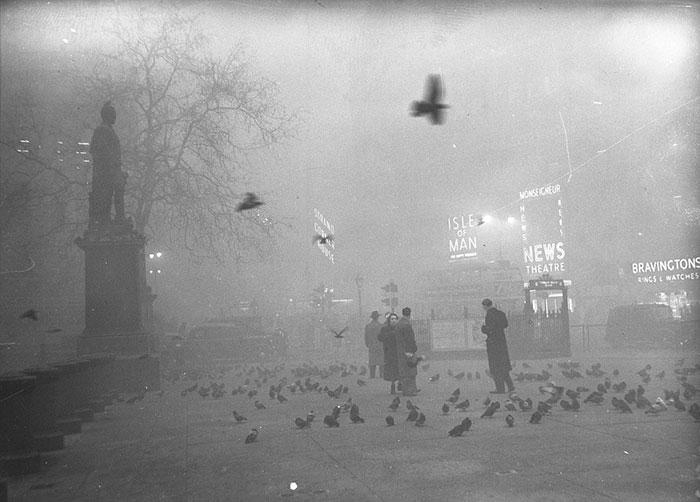 Trafalgar Square, December, 1952
