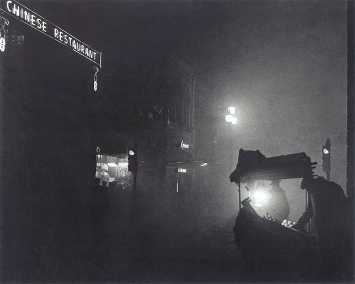 London Was Plunged Into Darkness From The Fog, 1952