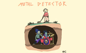 Metal Detector By Charlyne Yi