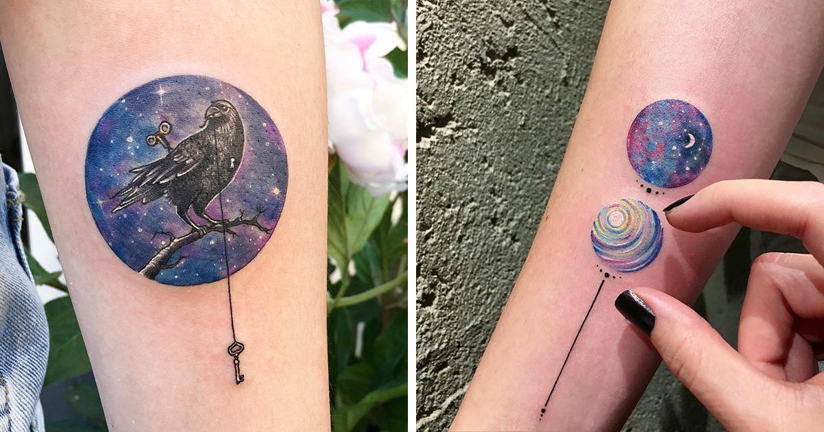 Circle Circular Tattoo Designs