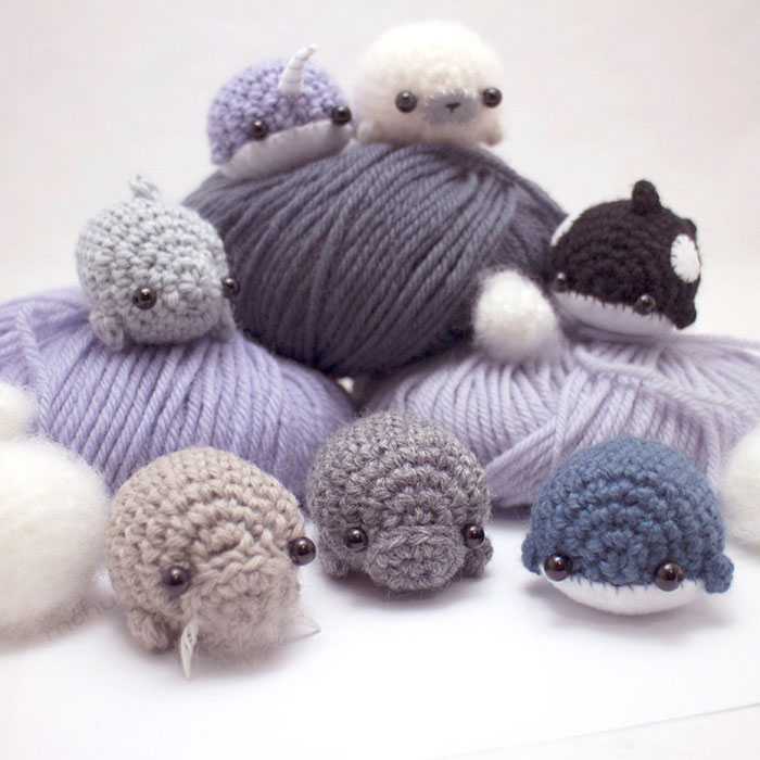 Crochet Animals : Miniature Crochet Animals By Mohustore