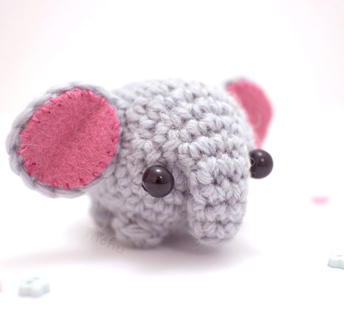 Miniature Crochet Animals By Mohustore