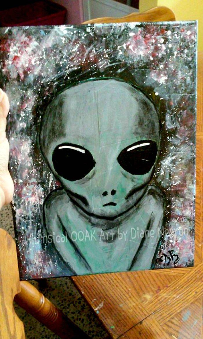 Anyone Here Like Aliens? (alien Art Ahead)