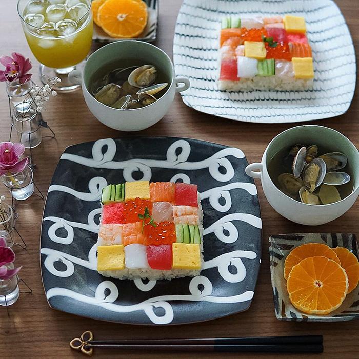 """""""Mosaic Sushi"""" biến bữa trưa của bạn thànhnhững tác phẩm nghệ thuật"""