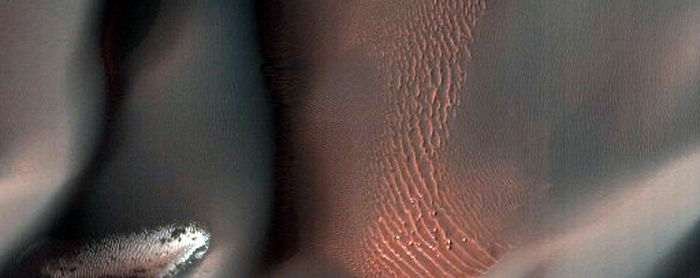 Proctor Crater Dune Gullies