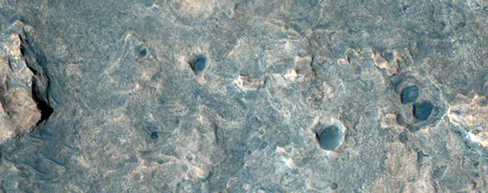 Possible Phyllosilicates In Area Of Fretted Terrain