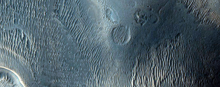 Deposits In Noctis Labyrinthus