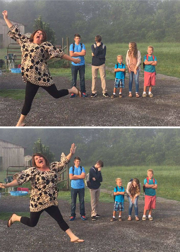 Moms Excited About Kids Going Back To School