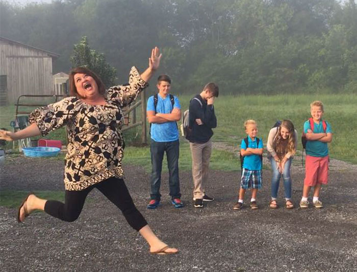 Moms And Dads Post That Horrible Moment Their Kids Go Back To School