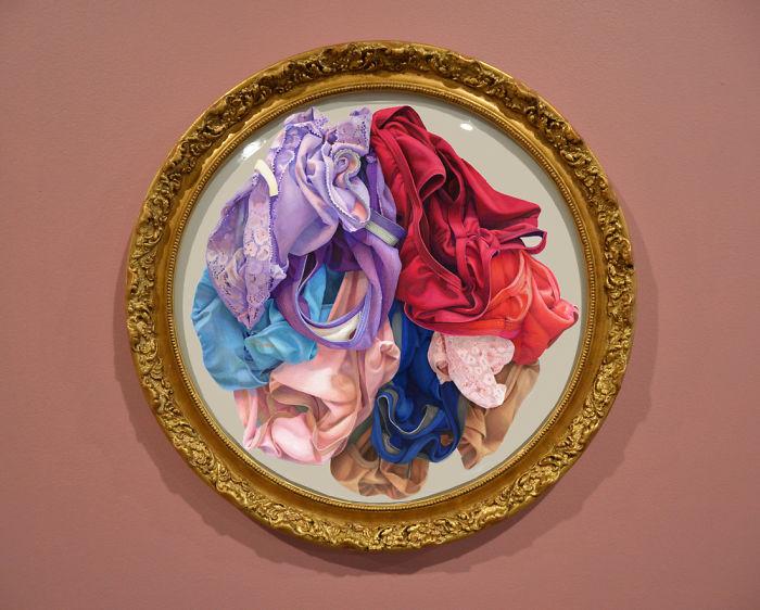 I Created Intricate Drawings Of Women's Underwear To Celebrate Women