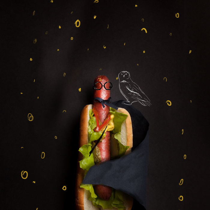I Made Hot Dogs As Famous Characters