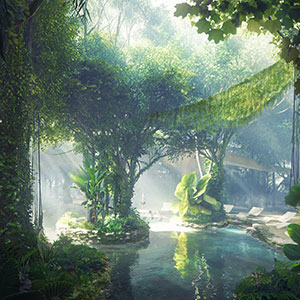 Take A Look Inside The World's First Hotel With It's Own Rainforest