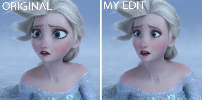 "Elsa In ""Frozen"""
