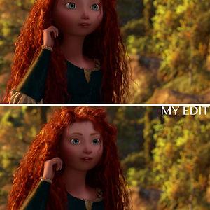 """Merida In """"Brave"""""""