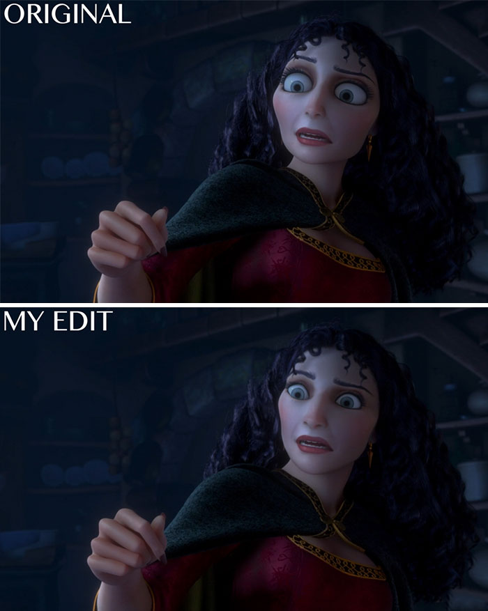 "Gothel In ""Tangled"""
