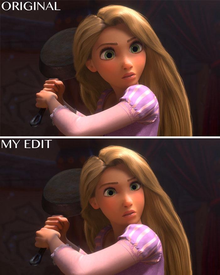 "Rapunzel In ""Tangled"""