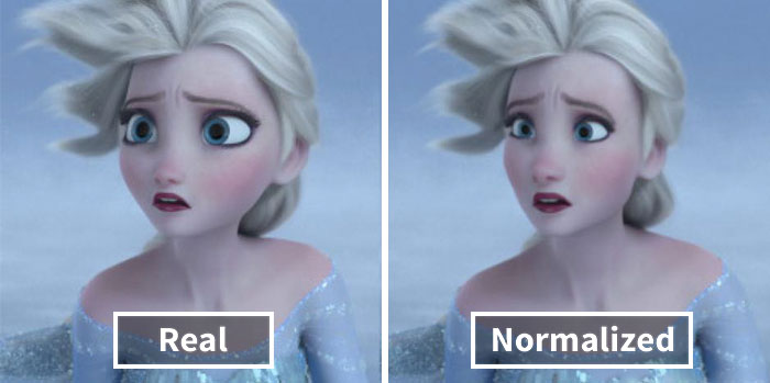 "This Tumblr User ""Normalizes"" Cartoon Characters And Now People Can't Decide Which Is Better"