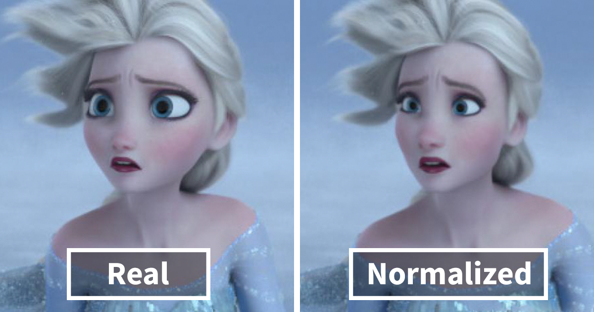 this tumblr user normalizes cartoon characters and now people can