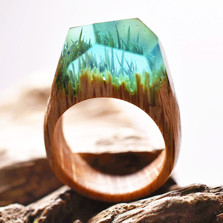 resin-rings-miniature-scenes-secret-forest-11