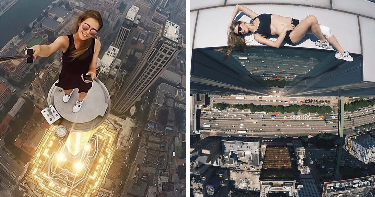 This Russian Girl Takes The Riskiest Selfies Ever Don T
