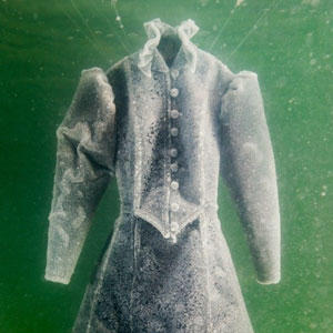 Artist Leaves Dress In The Dead Sea For 2 Months And It Turns Into Glittering Salt Crystal Masterpiece