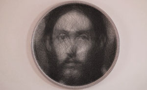 Artist Uses A SINGLE Thread To Recreate Renaissance Painting