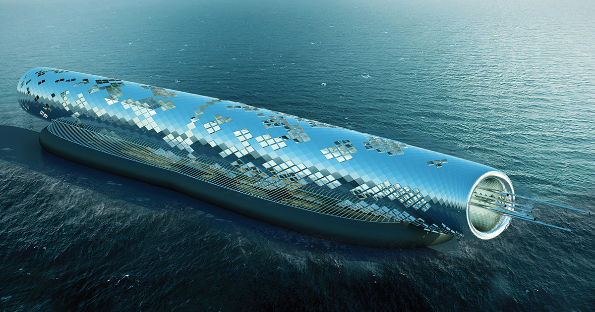 Solar-Powered Pipe Designed To Desalinate 1.5 Billion Gallons Of Drinking Water For California