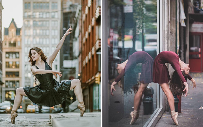 Breathtaking Portraits Of Ballet Dancers Practicing On The Streets Of New York