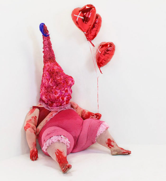 My Performance-Based Sculptures Revealing Society's Perception Of The Obese