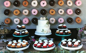 Donut Walls Is The Newest Wedding Trend That Will  Win Over Your Guests' Hearts