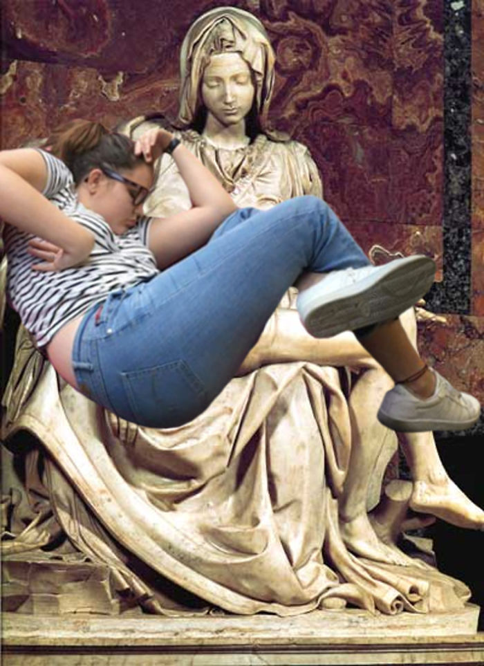 La Pieta Girl