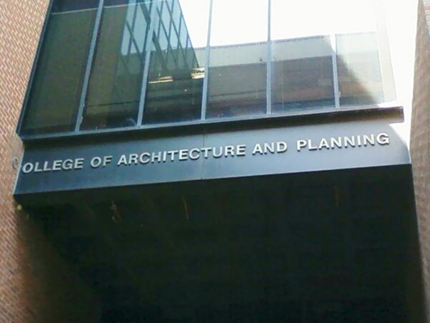 "College Of ""Planning"""