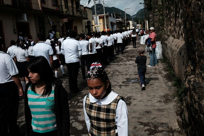 I Photographed Mexican Independence Day Celebration In Small Magical Town In Central Mexico