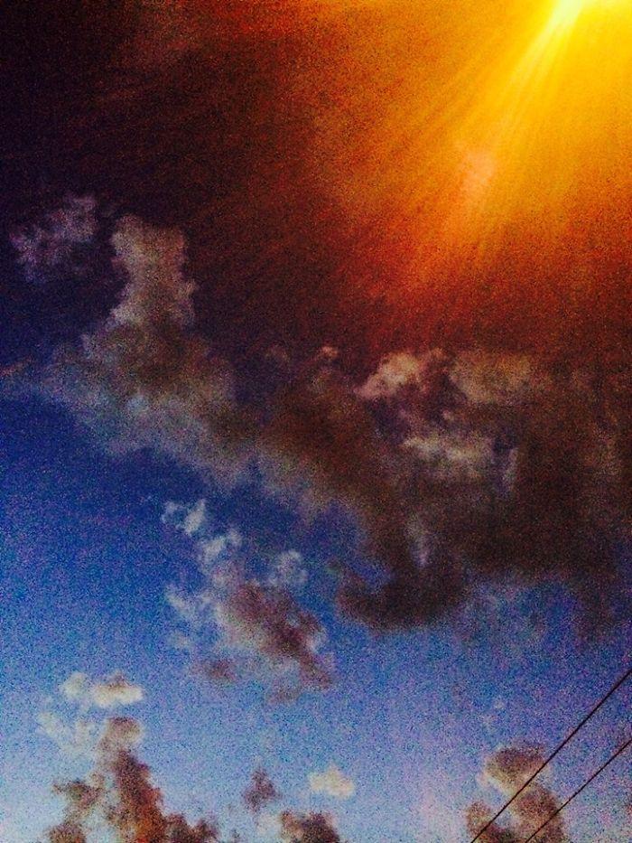 Amazing Sky In Brasov