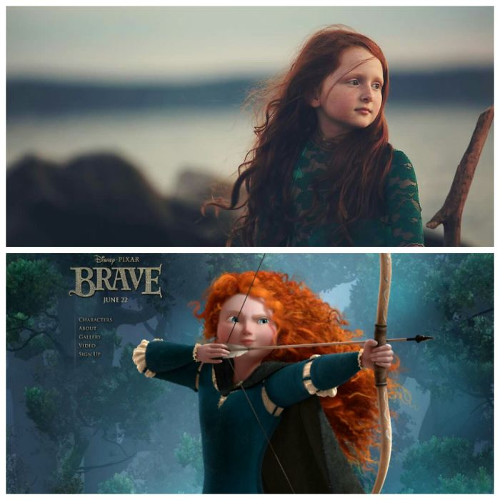My Daughter Izzy And Merida From Brave