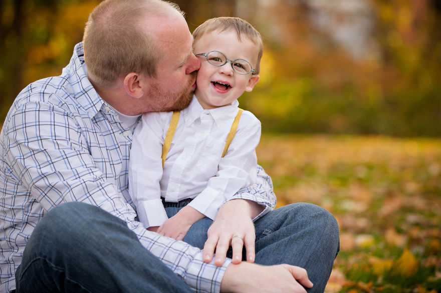 Luke Was Diagnosed With Retinoblastoma Eye Cancer When He Was Only 14 Months Old