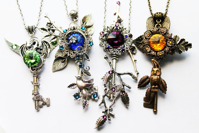 My Key Necklaces