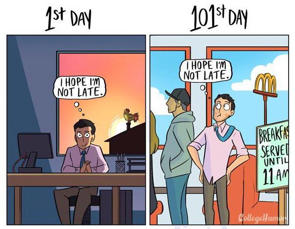 1st-day-of-work-vs-101st-day-cartoon-karina-farek-5a