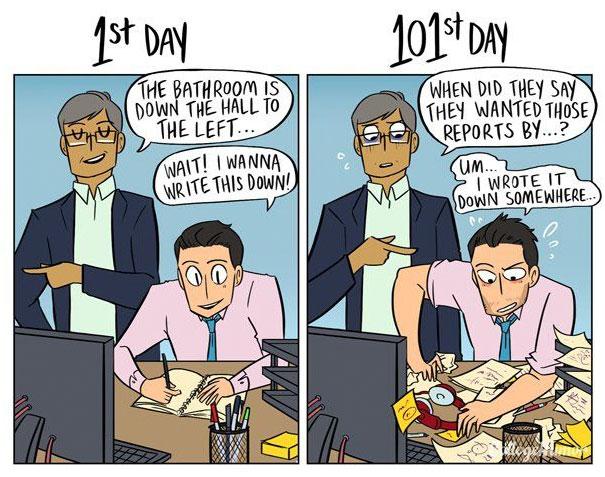 1st-day-of-work-vs-101st-day-cartoon-karina-farek-6
