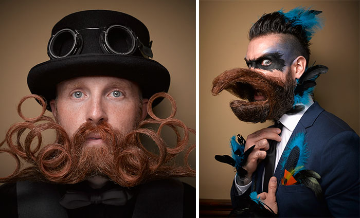 40 Of The Most Epic Entries From The 2016 National Beard And Moustache Competition
